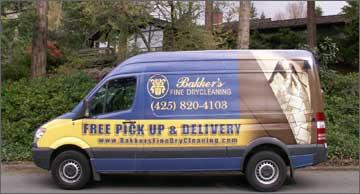 Bakker's delivery truck